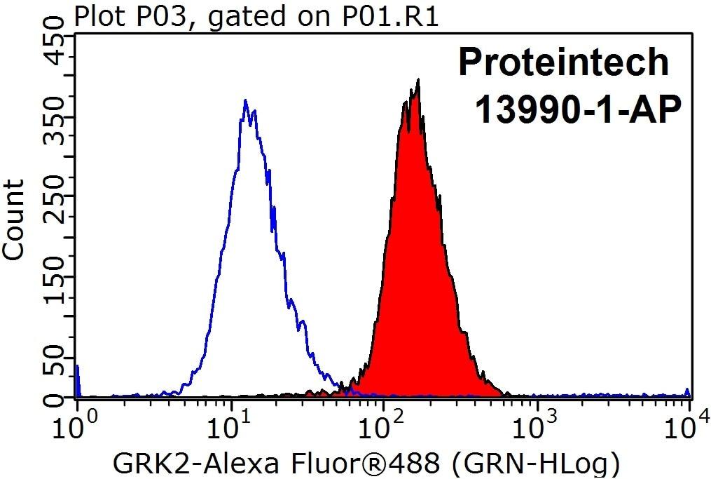 FC experiment of HeLa using 13990-1-AP