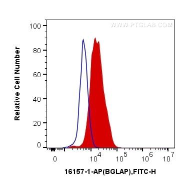FC experiment of U2OS using 16157-1-AP