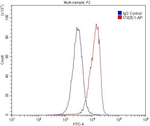 FC experiment of U-937 using 17425-1-AP