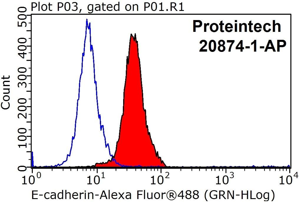 FC experiment of HepG2 using 20874-1-AP