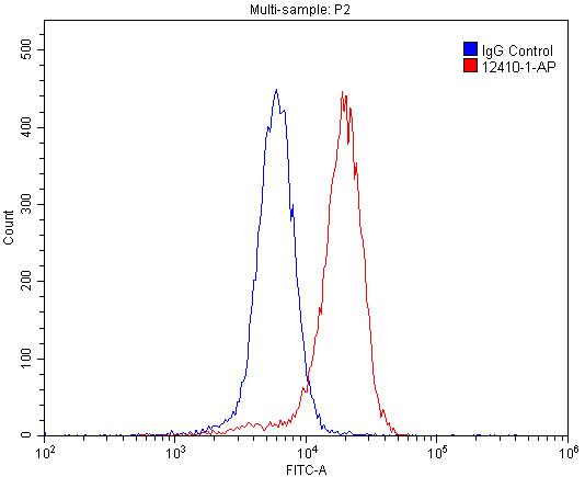FC experiment of SH-SY5Y using 12410-1-AP