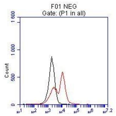 FC experiment of hESC cells using 13092-1-AP