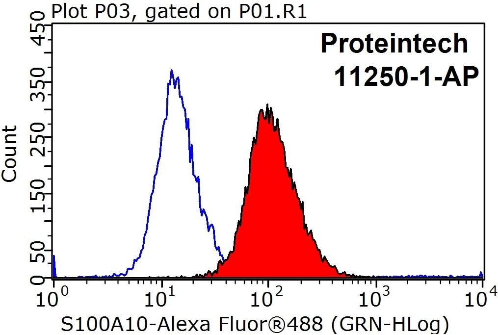 FC experiment of HeLa using 11250-1-AP