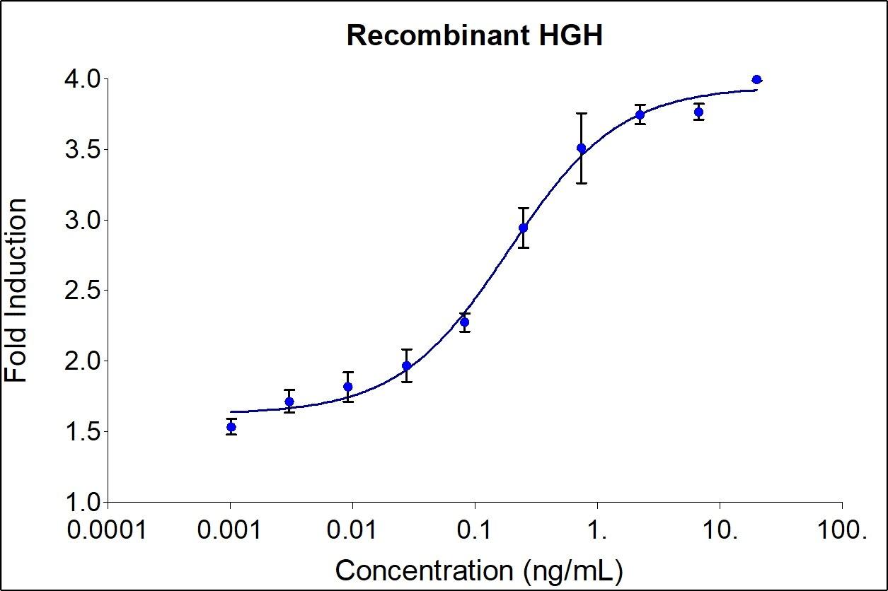 Recombinant Human HGH Graph