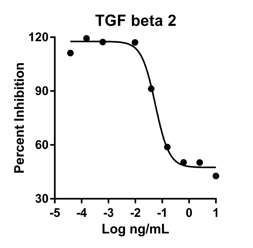 Recombinant Human TGF beta 2 Graph