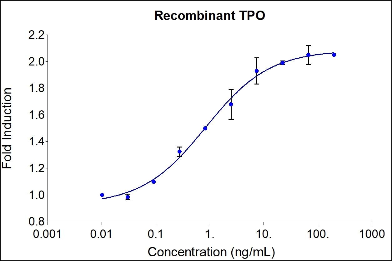 Recombinant Human TPO Graph